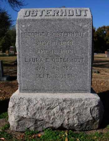 OSTERHOUT, GEORGE A - Cowley County, Kansas | GEORGE A OSTERHOUT - Kansas Gravestone Photos