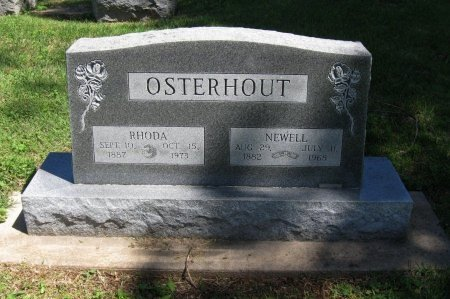 OSTERHOUT, NEWELL E - Cowley County, Kansas | NEWELL E OSTERHOUT - Kansas Gravestone Photos
