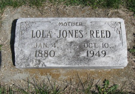 JONES, LOLA - Cowley County, Kansas   LOLA JONES - Kansas Gravestone Photos