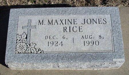 JONES, MYRTLE MAXINE - Cowley County, Kansas | MYRTLE MAXINE JONES - Kansas Gravestone Photos