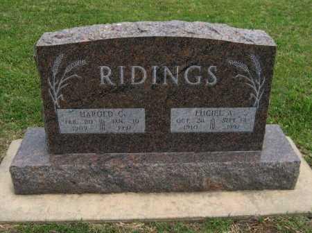 "RIDINGS, LUCIEL ANNA ""TOOTS"" - Cowley County, Kansas | LUCIEL ANNA ""TOOTS"" RIDINGS - Kansas Gravestone Photos"