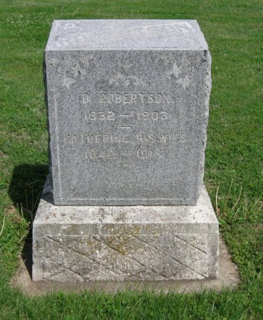 ROBERTSON, CATHERINE - Cowley County, Kansas | CATHERINE ROBERTSON - Kansas Gravestone Photos