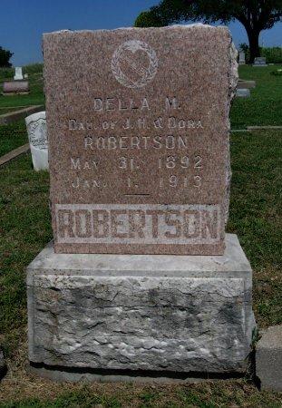 ROBERTSON, DELLA MAY - Cowley County, Kansas | DELLA MAY ROBERTSON - Kansas Gravestone Photos