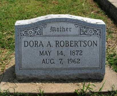 ROBERTSON, DORA ANN - Cowley County, Kansas | DORA ANN ROBERTSON - Kansas Gravestone Photos