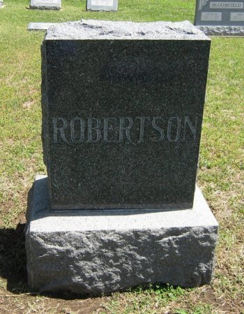 ROBERTSON, FAMILY STONE - Cowley County, Kansas | FAMILY STONE ROBERTSON - Kansas Gravestone Photos
