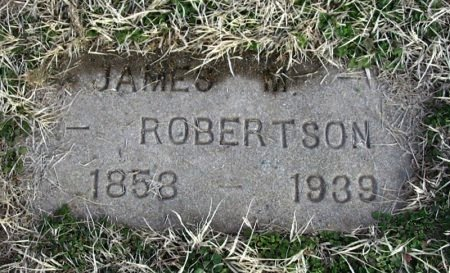 ROBERTSON, JAMES MELTON - Cowley County, Kansas | JAMES MELTON ROBERTSON - Kansas Gravestone Photos