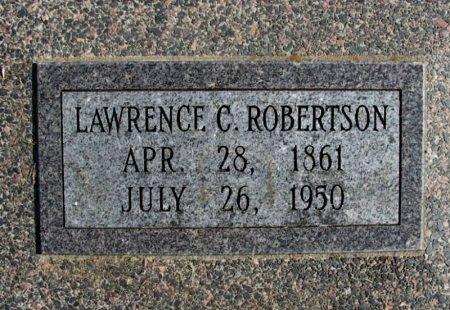 ROBERTSON, LAWRENCE C - Cowley County, Kansas | LAWRENCE C ROBERTSON - Kansas Gravestone Photos