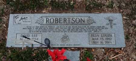 ROBERTSON, RESA LOUISE - Cowley County, Kansas | RESA LOUISE ROBERTSON - Kansas Gravestone Photos