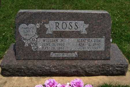 COOMBES ROSS, ALEATHIA ALTA - Cowley County, Kansas   ALEATHIA ALTA COOMBES ROSS - Kansas Gravestone Photos