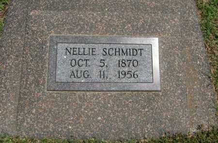 ABBOTT SCHMIDT, NELLIE - Cowley County, Kansas | NELLIE ABBOTT SCHMIDT - Kansas Gravestone Photos