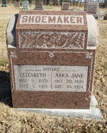 "SHOEMAKER, ELIZABETH ""LIBBY"" - Cowley County, Kansas 