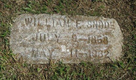 SNODE, WILLIAM - Cowley County, Kansas | WILLIAM SNODE - Kansas Gravestone Photos