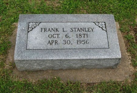 STANLEY, FRANK LEE - Cowley County, Kansas   FRANK LEE STANLEY - Kansas Gravestone Photos