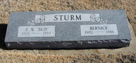 STURM, BERNICE - Cowley County, Kansas | BERNICE STURM - Kansas Gravestone Photos