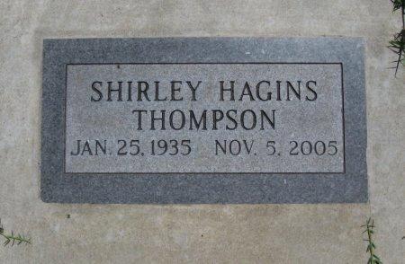 HAGINS THOMPSON, SHIRLEY ANN - Cowley County, Kansas | SHIRLEY ANN HAGINS THOMPSON - Kansas Gravestone Photos