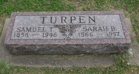 HARMON TURPEN, SARAH BELL - Cowley County, Kansas | SARAH BELL HARMON TURPEN - Kansas Gravestone Photos