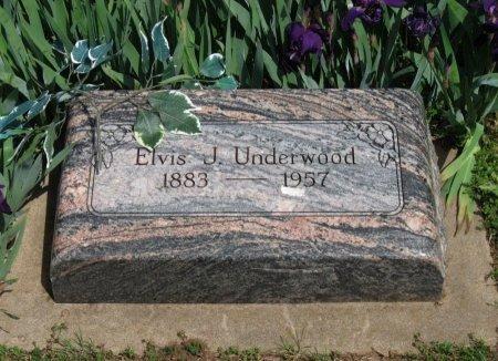 UNDERWOOD, ELVIS JOHN - Cowley County, Kansas | ELVIS JOHN UNDERWOOD - Kansas Gravestone Photos