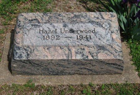 UNDERWOOD, HAZEL - Cowley County, Kansas | HAZEL UNDERWOOD - Kansas Gravestone Photos