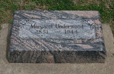 UNDERWOOD, MARGARET CATHERINE - Cowley County, Kansas | MARGARET CATHERINE UNDERWOOD - Kansas Gravestone Photos