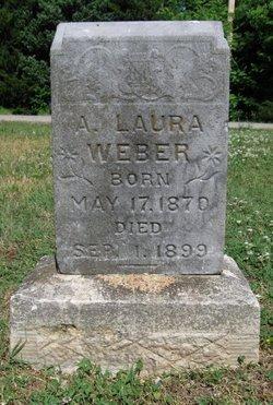 WEBER, A LAURA - Cowley County, Kansas | A LAURA WEBER - Kansas Gravestone Photos