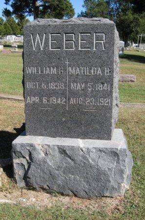 WEBER, MATILDA B - Cowley County, Kansas | MATILDA B WEBER - Kansas Gravestone Photos