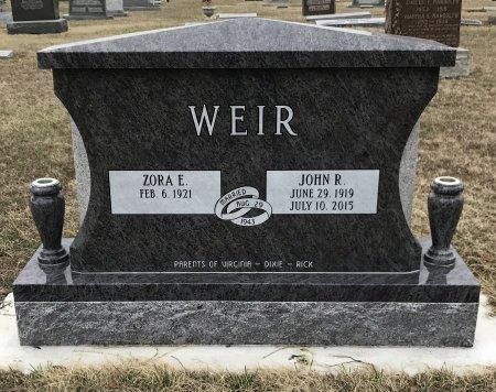 WEIR, JOHN R - Cowley County, Kansas | JOHN R WEIR - Kansas Gravestone Photos