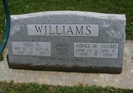 ADAMS WILLIAMS, AGNES MARIE - Cowley County, Kansas   AGNES MARIE ADAMS WILLIAMS - Kansas Gravestone Photos