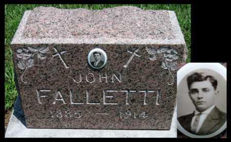 FALLETTI, JOHN - Crawford County, Kansas   JOHN FALLETTI - Kansas Gravestone Photos