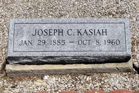 KASIAH, JOSEPH C - Crawford County, Kansas   JOSEPH C KASIAH - Kansas Gravestone Photos