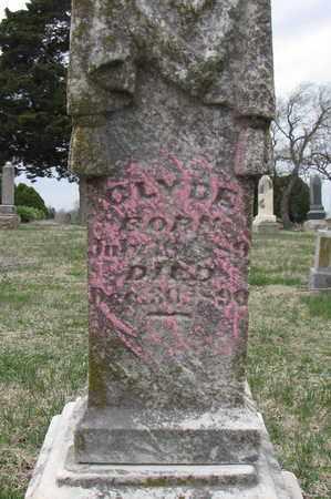 MARSH, CLYDE - Crawford County, Kansas | CLYDE MARSH - Kansas Gravestone Photos