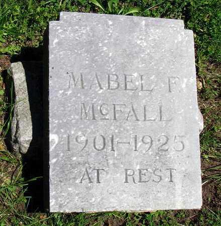 MCFALL, MABEL F - Crawford County, Kansas   MABEL F MCFALL - Kansas Gravestone Photos