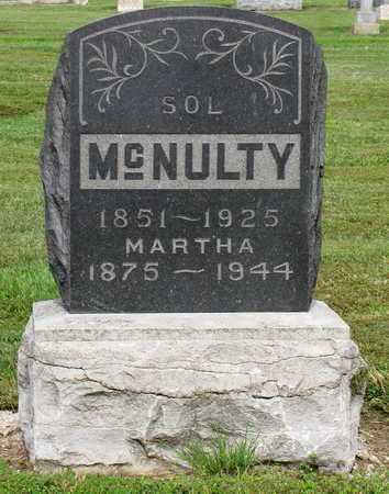 MCNULTY, MARTHA - Crawford County, Kansas | MARTHA MCNULTY - Kansas Gravestone Photos