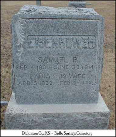 EISENHOWER, SAMUEL PETER - Dickinson County, Kansas | SAMUEL PETER EISENHOWER - Kansas Gravestone Photos