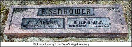HOOVER EISENHOWER, AMANDA ALICE - Dickinson County, Kansas | AMANDA ALICE HOOVER EISENHOWER - Kansas Gravestone Photos