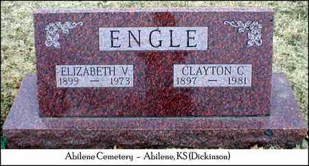 ENGLE, ELIZABETH VIOLA - Dickinson County, Kansas | ELIZABETH VIOLA ENGLE - Kansas Gravestone Photos