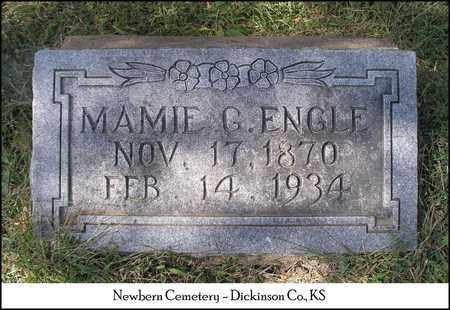 ENGLE, MAMIE G - Dickinson County, Kansas | MAMIE G ENGLE - Kansas Gravestone Photos