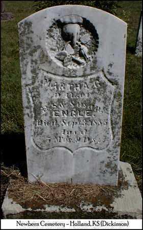 ENGLE, MARTHA G - Dickinson County, Kansas | MARTHA G ENGLE - Kansas Gravestone Photos