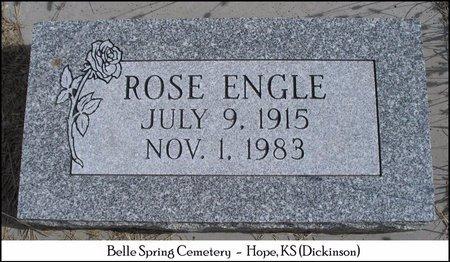 LORE ENGLE, ROSE - Dickinson County, Kansas   ROSE LORE ENGLE - Kansas Gravestone Photos