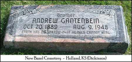 GANTENBEIN, ANDREW - Dickinson County, Kansas | ANDREW GANTENBEIN - Kansas Gravestone Photos