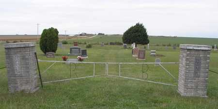 *GATE AND OVERVIEW,  - Dickinson County, Kansas |  *GATE AND OVERVIEW - Kansas Gravestone Photos