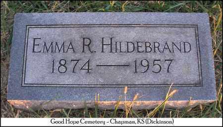 HILDEBRAND, EMMA R - Dickinson County, Kansas | EMMA R HILDEBRAND - Kansas Gravestone Photos