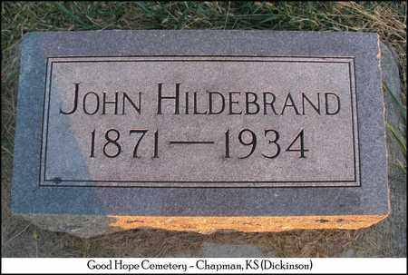 HILDEBRAND, JOHN - Dickinson County, Kansas | JOHN HILDEBRAND - Kansas Gravestone Photos