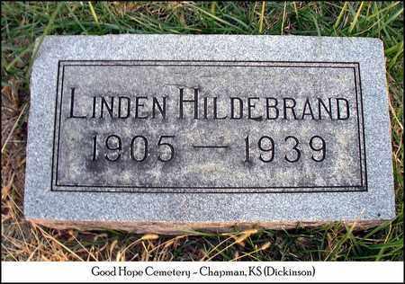 HILDEBRAND, LINDEN - Dickinson County, Kansas | LINDEN HILDEBRAND - Kansas Gravestone Photos