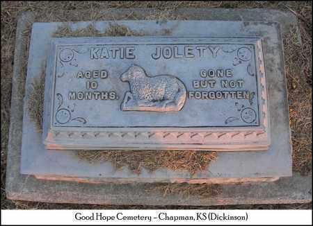 JOLETY, KATIE - Dickinson County, Kansas | KATIE JOLETY - Kansas Gravestone Photos