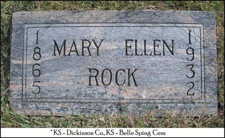 ROCK, MARY ELLEN - Dickinson County, Kansas | MARY ELLEN ROCK - Kansas Gravestone Photos