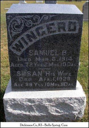 GAYMAN WINGERD, SUSANNAH - Dickinson County, Kansas | SUSANNAH GAYMAN WINGERD - Kansas Gravestone Photos