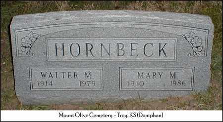HORNBECK, MARY M - Doniphan County, Kansas | MARY M HORNBECK - Kansas Gravestone Photos