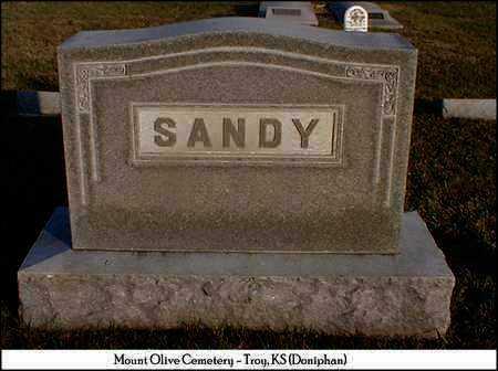 SANDY, FAMILY STONE - Doniphan County, Kansas | FAMILY STONE SANDY - Kansas Gravestone Photos