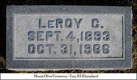 SANDY, LEROY CAMPBELL - Doniphan County, Kansas | LEROY CAMPBELL SANDY - Kansas Gravestone Photos