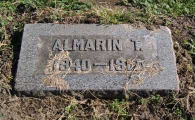 NOTTINGHAM, ALMARIN T  (VETERAN UNION) - Douglas County, Kansas | ALMARIN T  (VETERAN UNION) NOTTINGHAM - Kansas Gravestone Photos